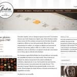 Chocolats Andrée (home page)
