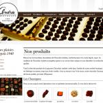 Chocolats Andrée (product list)