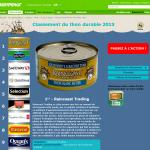 Greenpeace Canada – 2013 Canned Tuna Sustainability Ranking
