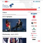Toronto Global Forum (multimedia section)